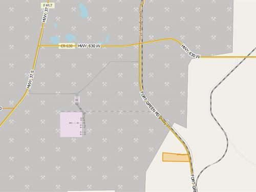 Fort Green Road Acreage & Homesite : Mulberry : Polk County : Florida