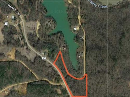 7 Acre Build-Able Lot in North : Pontotoc : Mississippi