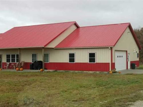 Beautiful Custom Built 2 Year Old : 19562 195th St. : Lewis County : Missouri