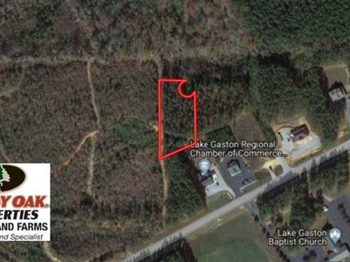 1.12 Acres of Commercial Land For : Littleton : Warren County : North Carolina