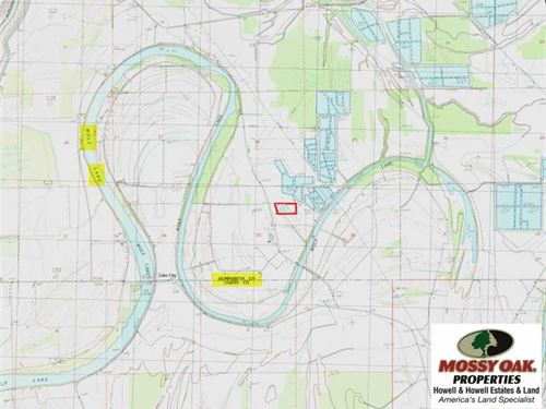 14.81 Deeded Acres Near Wolf Lake : Silver City : Humphreys County : Mississippi