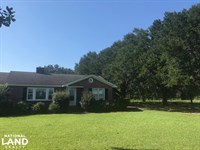 East Bay Country Home : Brittons Neck : Marion County : South Carolina