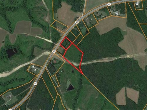 Acreage For Sale In Southern VA : Chase City : Mecklenburg County : Virginia