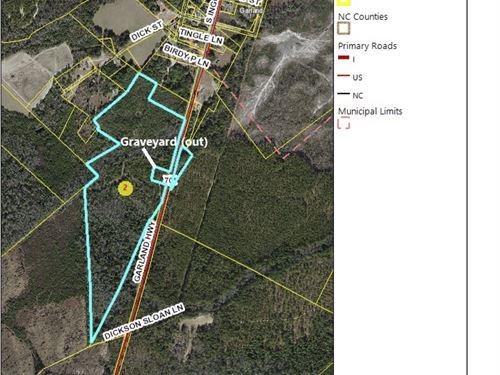 Great Hunting Land, Cheap : Garland : Sampson County : North Carolina