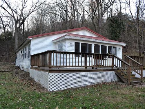 51 Acres Secluded Home With Na : Harriet : Searcy County : Arkansas