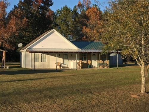 Home & 3 Acres : Tylertown : Walthall County : Mississippi
