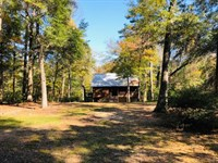 Riverfront Home And 3.6 Acres : Tylertown : Walthall County : Mississippi