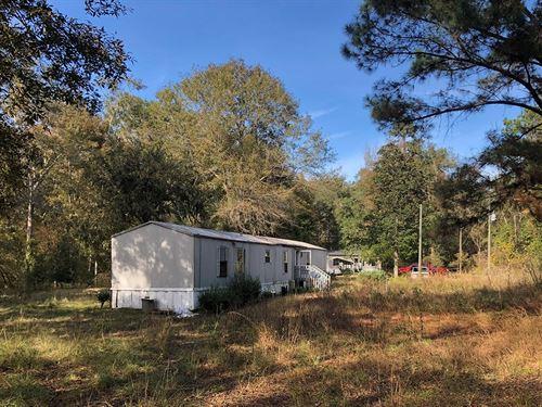 Land Home Suwannee County, Florida : Live Oak : Columbia County : Florida