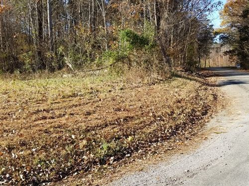 Corner Lot With Views Kerr Lake, VA : Buffalo Junction : Mecklenburg County : Virginia