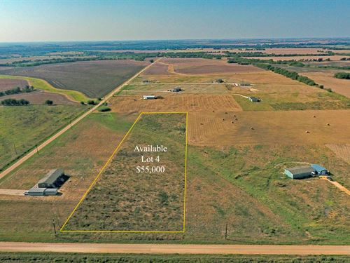 Highland Vistas, Lot 4 : Thorndale : Milam County : Texas