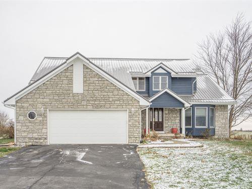 New Salem Rd, 5 Acres : Thornville : Fairfield County : Ohio