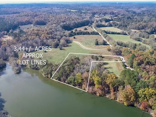 3.44 Acre Lot With Lake Varner View : Oxford : Newton County : Georgia