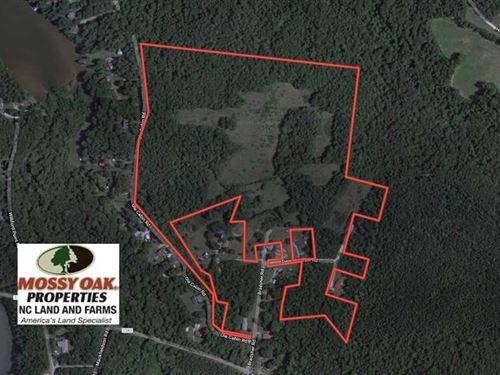 Under Contract, 59 Acres of Hunti : Roxboro : Person County : North Carolina