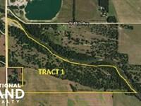 Arkansas River Pasture Tract 1 : Nickerson : Reno County : Kansas