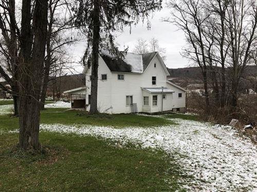 Tioga County, PA Farmhouse Acreage : Mansfield : Tioga County : Pennsylvania