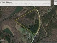 Heavily Wooded Charlie Elliott : Monticello : Jasper County : Georgia