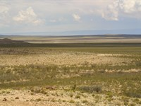 60 Ac, Near Co, Rd, Only $338/Mo : Sierra Blanca : Hudspeth County : Texas
