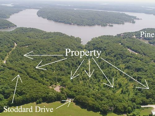 Huge 34 Acres At Lake Of The Ozarks : Camdenton : Camden County : Missouri