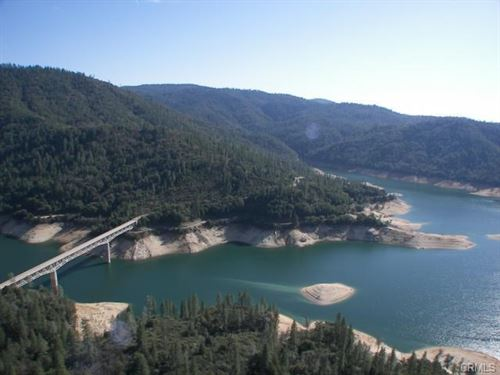 Lake View 104 Acres Overlooking : Oroville : Butte County : California