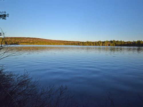 Waterfront Land in Lincoln, Maine : Lincoln : Penobscot County : Maine
