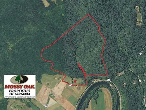 177 Acres of Residential Hunting : Eagle Rock : Botetourt County : Virginia