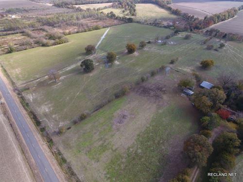 100 Ac, Land & Home Near Wisne : Wisner : Franklin Parish : Louisiana