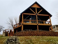 Main Body Waterfront Lake Home Lake : Unionville : Putnam County : Missouri