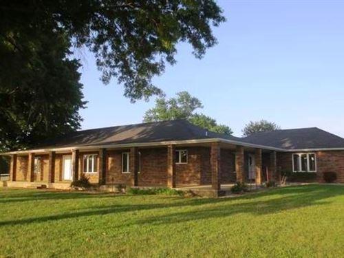 Country Home For Sale on 5 Acres : El Dorado Springs : Cedar County : Missouri
