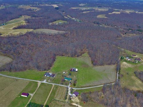 80 Acres in Liberty, Kentucky : Liberty : Casey County : Kentucky