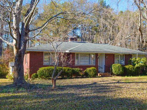 14.31 Acres With Brick House : Spartanburg : South Carolina