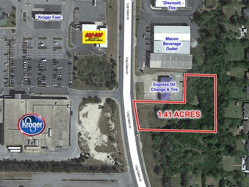 1.4 Acres For Sale : Macon : Bibb County : Georgia