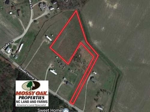 2 Acres of Residential Land For Sa : Williamston : Martin County : North Carolina