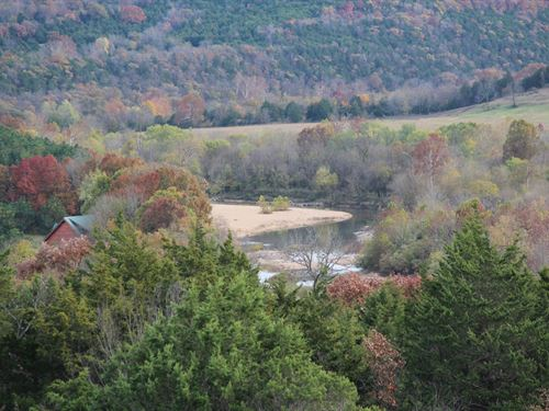 Kings River Land For Sale : Eureka Springs : Carroll County : Arkansas