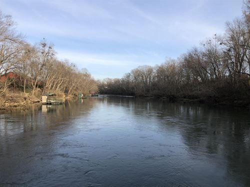 Raintree Valley Riverfront Land : Pangburn : Cleveland County : Arkansas