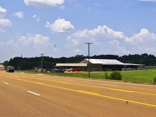 Commercial Building, Warehouse &Amp : McComb : Pike County : Mississippi