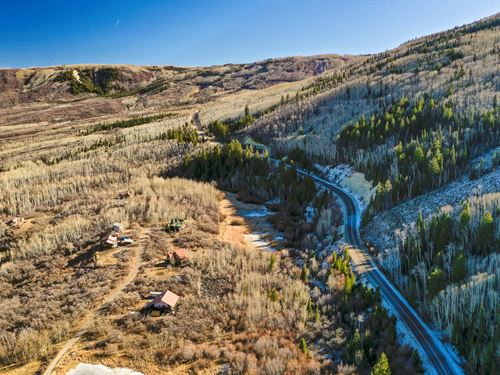 One Kind 35 Acre Mountain Homesite : Mesa : Colorado