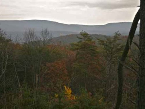 32.54 Acres Stunning Mountain View : Bloomery : Hampshire County : West Virginia