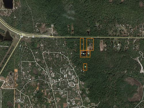 12 Acres Rec Property, Atv Trail : Frostproof : Polk County : Florida