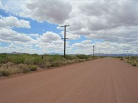 Prime Ranch Land, Paved, Power : Douglas : Cochise County : Arizona