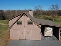 Cabin, Pasture, Hardwoods, Creek : Forsyth : Monroe County : Georgia