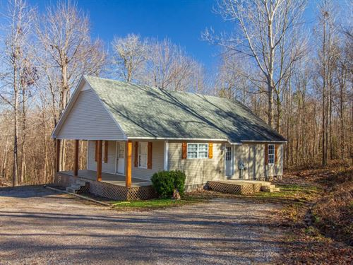 Country Home 4.8 Acres Small Pond : Ramer : McNairy County : Tennessee