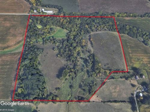 Secluded 35 Acres Just Outside Ames : Ames : Story County : Iowa