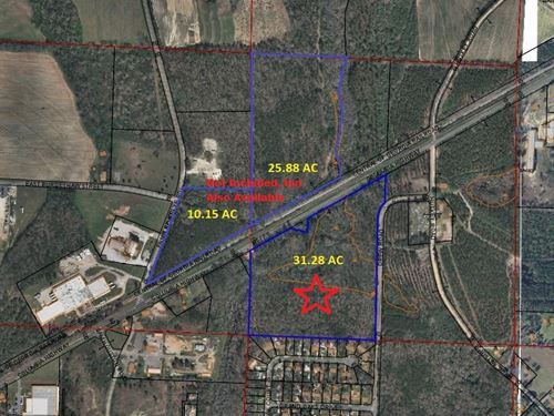 31.28 Ac Residential Development Op : Dothan : Houston County : Alabama