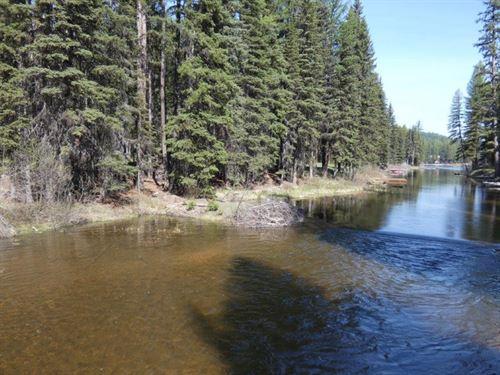 Lake Inez Recreation : Seeley Lake : Missoula County : Montana