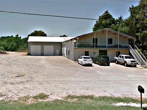 Office/Warehouse Building 7500+ Sf : Tyler : Smith County : Texas