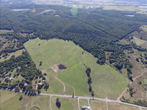81 Acres Oklahoma Land / Pasture : Wister : Le Flore County : Oklahoma