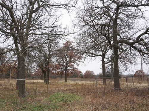 Wooded Homesite Central Oklahoma : Wellston : Lincoln County : Oklahoma