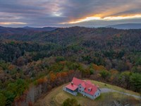 Private Retreat Near Hiwassee River : Reliance : Polk County : Tennessee