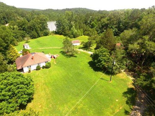 79 Acres With 2 Houses And 3 Creek : Ashland : Clay County : Alabama