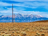 Ranch, Road Frontage & Electricity : San Luis : Costilla County : Colorado
